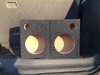 6.5 Component Speaker Box Enclosure Boston Acoustic Sr60 Car Coaxial 6-1/2