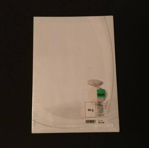 "SIGEL DP 526 Motiv Design Papier /""Harmony/"" Briefpapier 90 g DIN A4 25 Blatt *NEU"