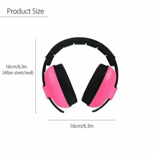 Baby Soundproof Hearing Protection Earmuff Noise Cancelling Ear Muffs for Sleep