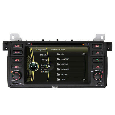 Auto GPS Navigation Radio DVD Stereo for BMW 3 Series E46 316i 318i 320i 325i