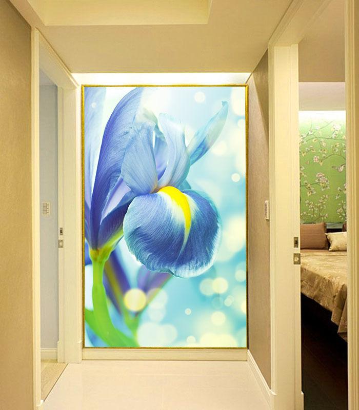 3D Die Blaue narzisse 177 Fototapeten Wandbild Fototapete BildTapete Familie DE