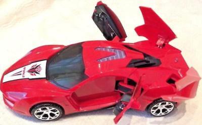 Musica luci lampeggianti /& deformazione Potente Forte Auto Giocattolo Bambini Racing auto giocattolo