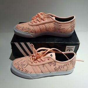 New-with-Box-ADIDAS-x-Gonz-Adi-Ease-Classified-Coral-Leather-Sneakers-sz-9-5