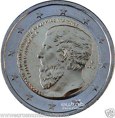 2 euros commémorative GRECE 2013 - PLATON - UNC - Seulement 742 000 exemplaires