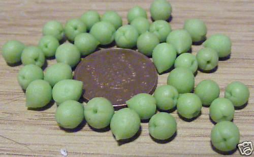1:12 SCALA 10 HAND MADE Limes tumdee Casa delle Bambole Miniatura Cucina Cibo Frutta