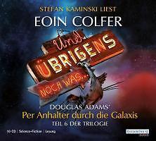 1 von 1 - Und übrigens noch was . . ., 10 Audio-CDs von Eoin Colfer und Douglas Adams