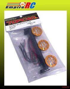 Topcad 56361or Alliage Toit Lumière Del Set (3) (orange) ( Pour Tamiya 1/10