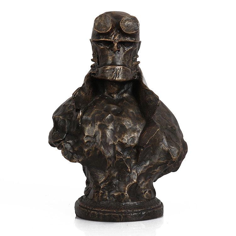 US US US Hellboy Resin Bust Statue Model Comic Version Statue Recast 8.6  Model Figure e55357