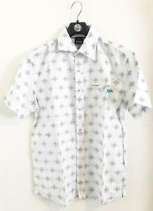 Rip-Curl-T-BONE-SHIRT-Mens-Size-S-Cotton-SURF-FIT-Shirts-CSHEAS-White-Rrp-69-99