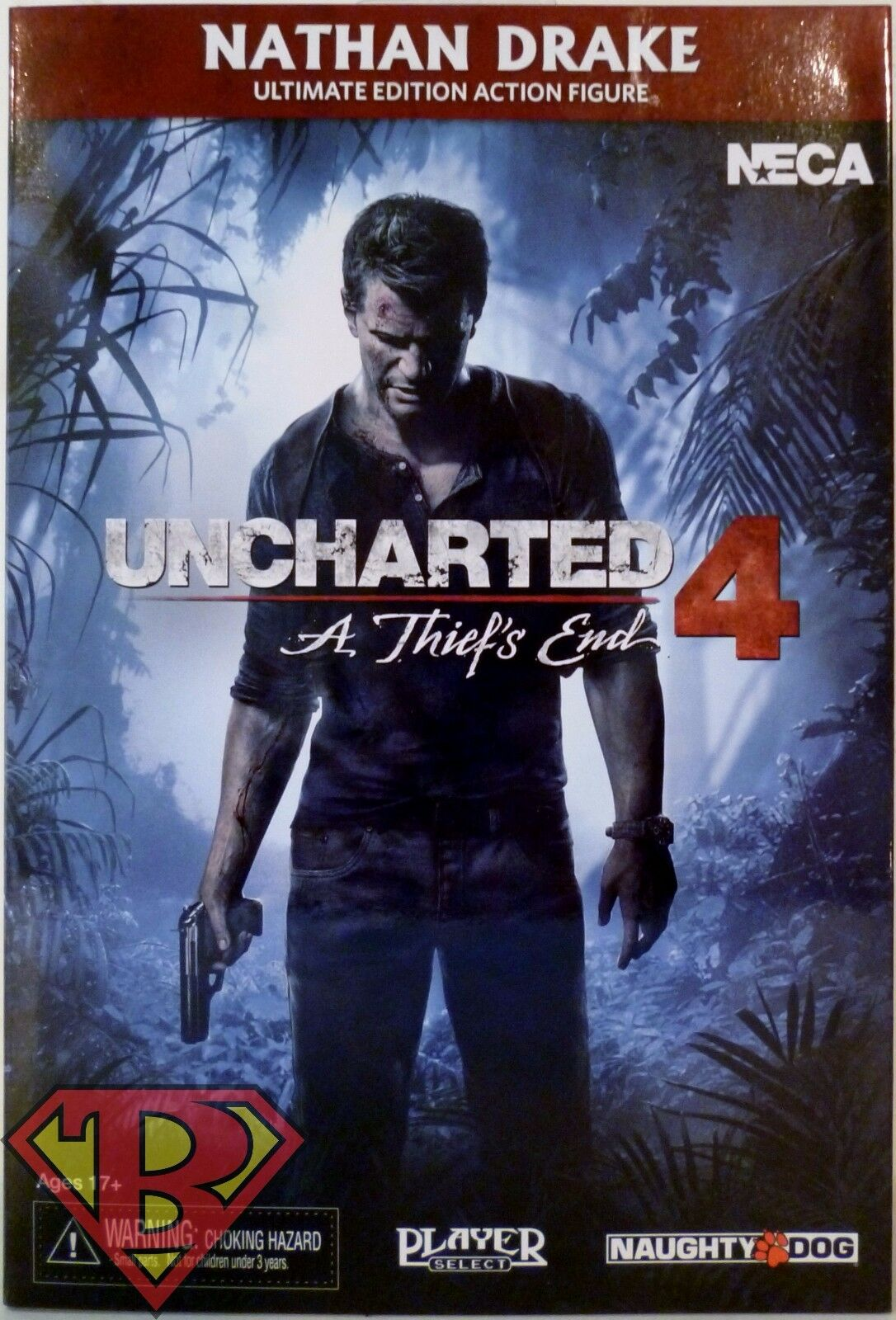 ULTIMATE NATHAN DRAKE Uncharted 4 Video Game Appearance 7  inch Figure Neca 2016