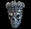 Petrobond-Cast-Silver-Bar-Mold-Pattern-Skull-King-Graphite-Mold-Alternative thumbnail 1