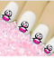 Christmas-Snow-Santa-Nail-Nails-Art-3D-Decal-Wraps-Stickers-Decals-Reindeer thumbnail 17