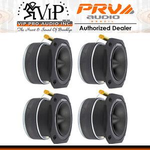 "4x PRV Audio TW700Ti-CR Bullet 4"" Pro Tweeter 8 ohm Titanium Car Stereo 960W"