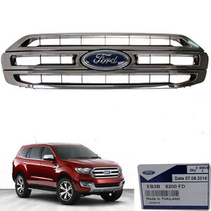 Genuine Part Ford Everest Suv Front Grill Chrome