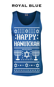 Jewish Christmas Sweater.Details About 528 Happy Hanukkah Christmas Sweater Tank Top Funny Gift Holiday Present Jewish