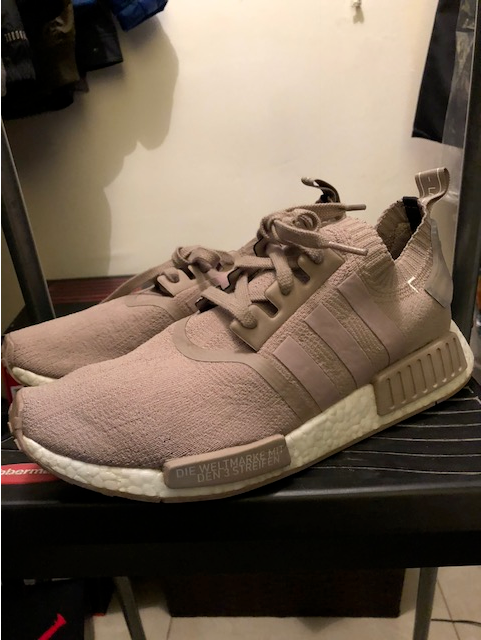 Adidas NMD  BOOST R1 PK French Beige Size 10 S81848