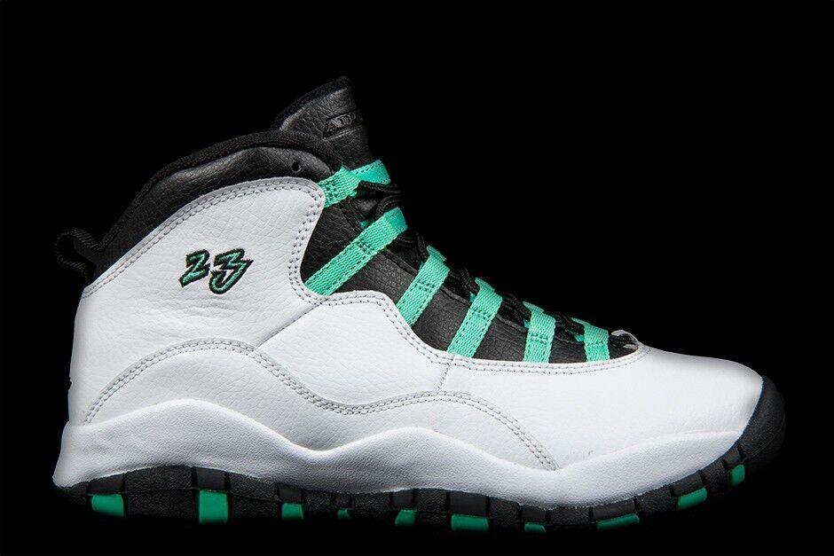 Nike air jordan 10 x retro - verde verde celtics dimensioni 705180-118