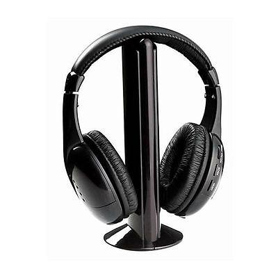 Cascos auriculares inalambricos sin cable con radio 5 en 1 con microfono play