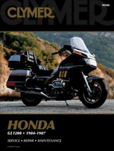 Automobilia Honda GL1200 Gold Wing 1984-1987 Aspen Clymer Workshop ...