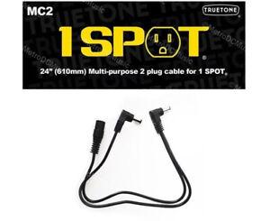 1-SPOT-24-034-2-Plug-Extension-Cable-Guitar-Pedal-Adapter-MC2-Truetone-Visual-Sound