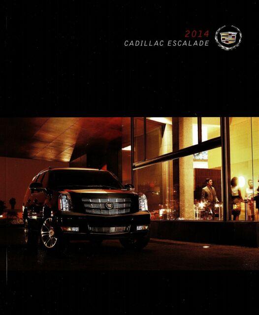 2014 Cadillac Escalade ESV Platinum 40-Page Deluxe Sales