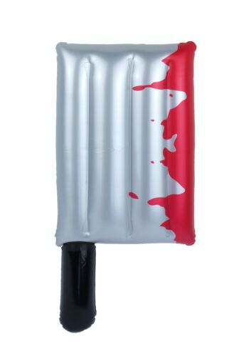 FANCY DRESS INFLATABLE HALLOWEEN BLOODY CLEAVER 40CM