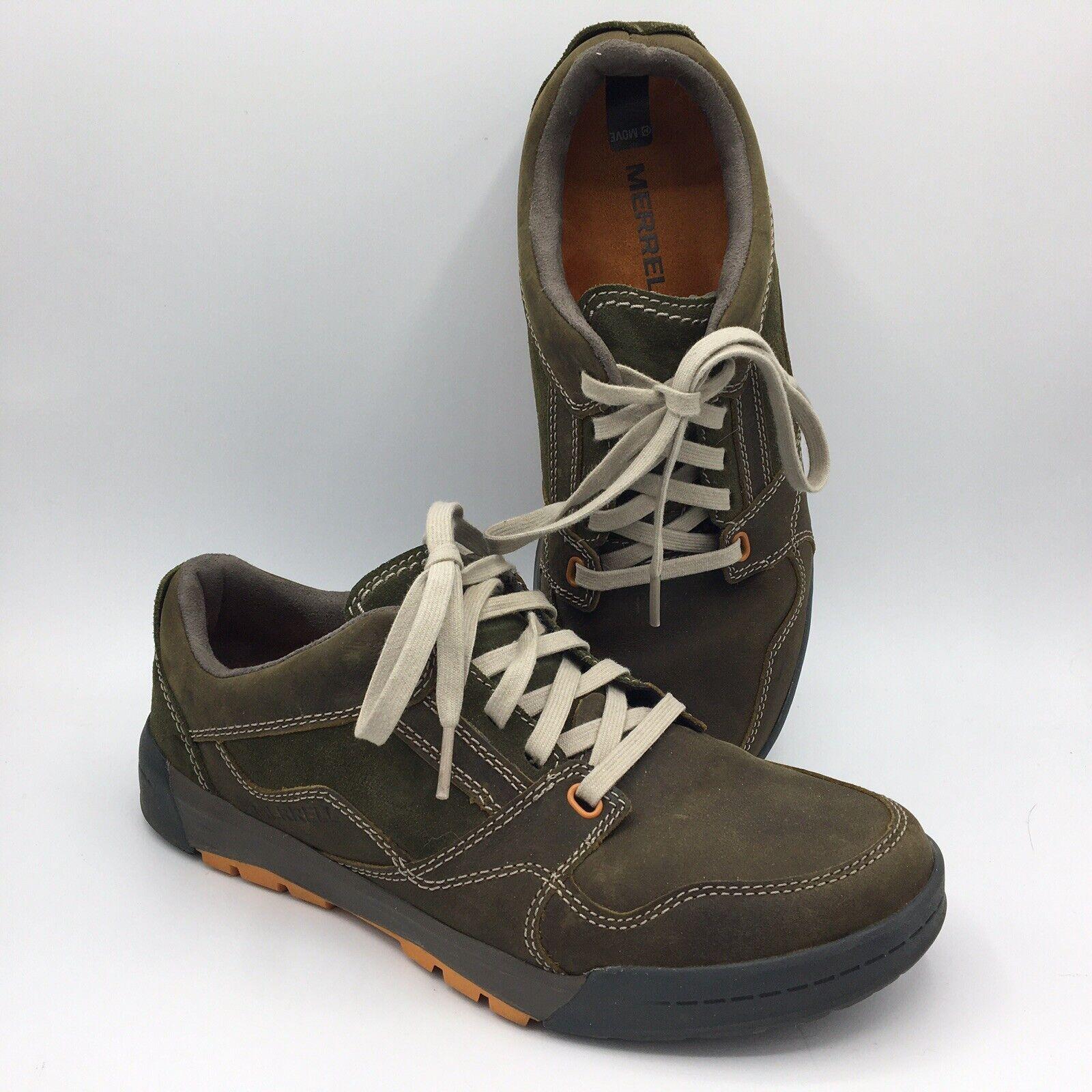 Merrell Berner Lace Men's Shoe Size 7 M US Dusty Olive Hiking Walking Shoe
