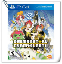 PS4 Digimon Story Cyber Sleuth ENG /  數碼寶貝物語 網路偵探 中文 SONY Bandai Namco Games RPG