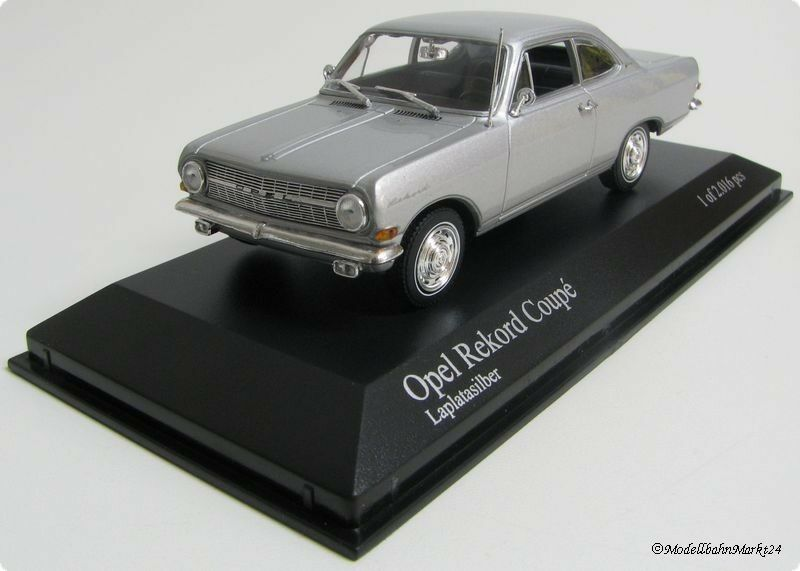 OPEL REKORD COUPE platao auto in scala 1 43 - SCATOLA ORIGINALE