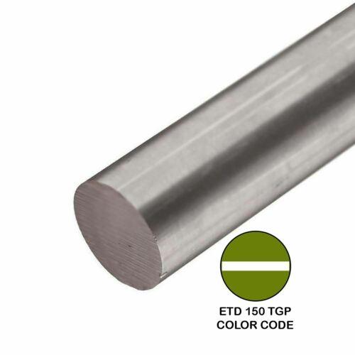 1.000 1 inch x 48 inches ETD 150 TGP Alloy Steel Round Rod
