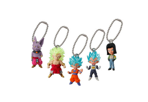 Dragon Ball UDM Best 25 Mascot Swing PVC Keychain SD Figure ~ SS3 Broly @24567