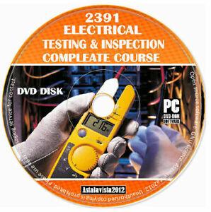2391 ispezione elettrici e materiale didattico corso di studio PROVA DOMANDE D'ESAME DVD