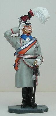 Metal Toy Soldier Prussian Kaiser Wilhelm II Birthday Review in Berlin 1913 KB25