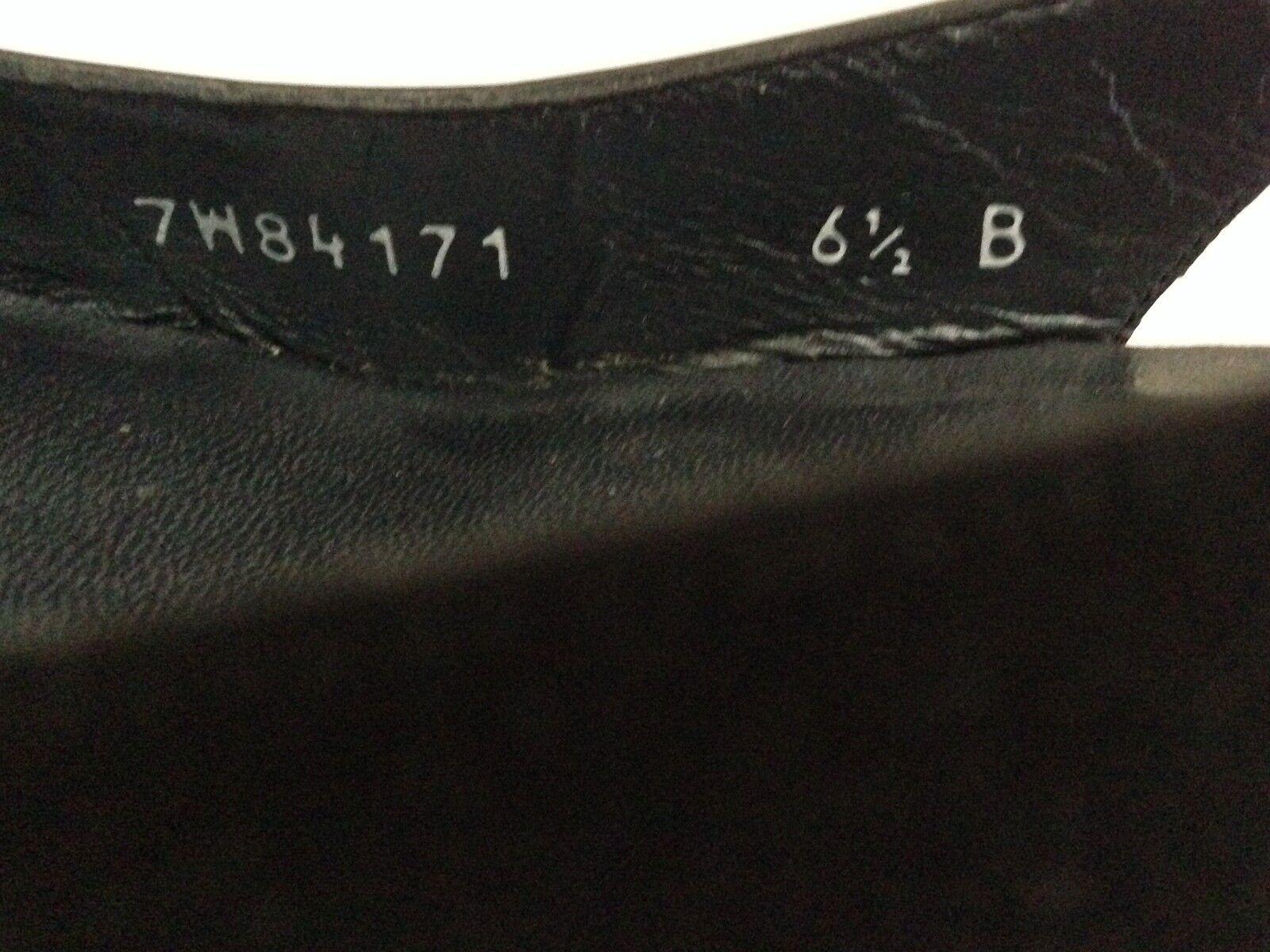 STUART WEITZMAN schwarz PATENT LEATHER POINTED TOE HEELS Größe 6.5 6.5 6.5 036b29