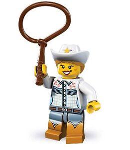 Lego-minifig-series-8-cowgirl-cowboy-lasoo-wild-west-horse-lot-friends-city-bulk