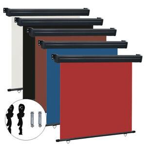 Außenrollo Senkrechtmarkise Balkon-Seitenmarkise Sichtschutz Windschutz Markise