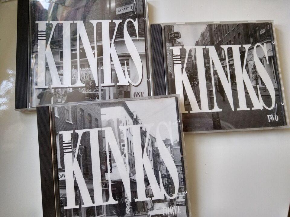 Kinks: Remastered 1-3, rock