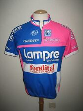 Lampre Fondital Italy jersey shirt cycling maillot maglia ciclismo size 50, XL