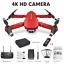 New-Drone-With-Wide-Angle-HD-4K-1080P-Camera-WIFI-FPV-Height-Hold-Foldable-Gift thumbnail 12