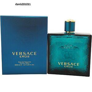 8c27f95ddb VERSACE EROS by Versace 6.7 oz   200 ml Eau De Toilette Spray MEN ...