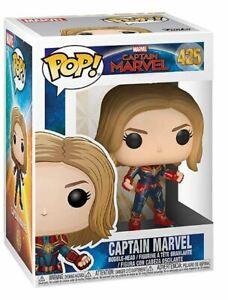 Funko-Pop-Marvel-Capitaine-Marvel-Capitaine-Marvel-Vinyle-Figurine