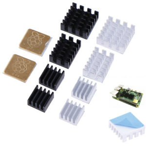 5Pcs-For-Raspberry-Pi-2-3-4-3B-4B-Aluminum-Heatsink-Radiator-Cooler-Kit-J-Fy