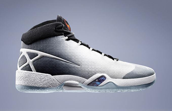 Nike Air Jordan 30 XXX White Black Wolf Grey Size 11. 811006-101 1 2 3 4 5 6