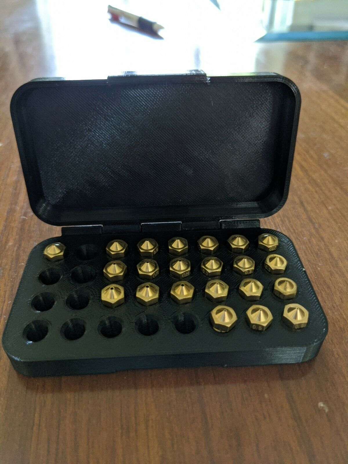 [3DMakerWorld] E3D Brass V6 Nozzle - 1.75mm