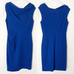 Suzy Chin for Maggy Boutique Womens Dress Size 10 Blue