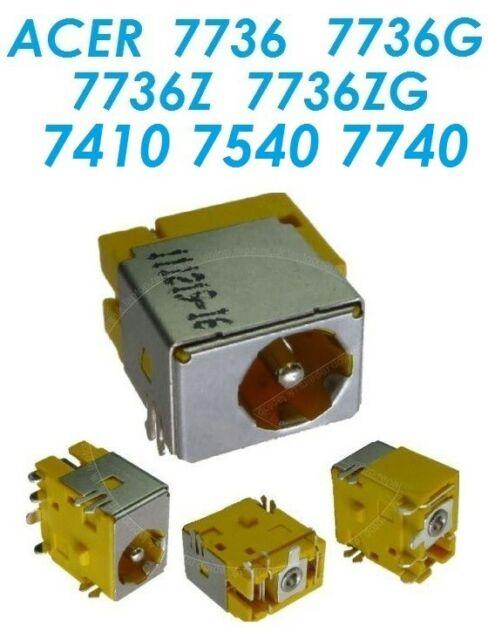 CONNECTEUR ALIMENTATION DC POWER JACK ACER 7736 7736Z 7540