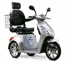 SILVER 3 Wheel Mobility Scooter, with Alarm, Batteries, Delivery, Basket, EW-36