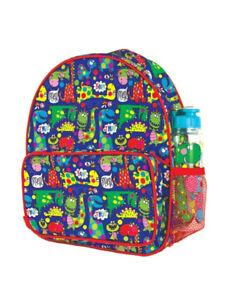 Image Is Loading DINOSAUR KIDS BOYS NURSERY SCHOOL BACKPACK RUCKSACK BAG