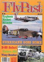 FlyPast Magazine 38 Hurricane Typhoon B-25 Vickers .303 Sopwith Vimy Bomber