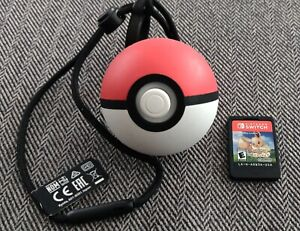 Nintendo Pokemon Poke Ball Plus (Switch, 2018) & Pokemon Let's Go Eevee Switch
